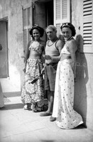 Ady Fidelin, Picasso and Nusch Eluard, 1937 год